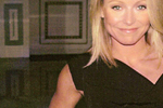 Kelly Ripa in Black Halo