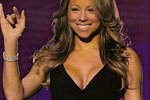 Mariah Carey in Black Halo