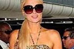 Paris Hilton wearing David Lerner