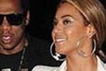 Beyonce wearing Joe's Jeans