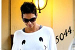 Halle Berry wearing Wildfox