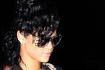 Rihanna wearing J Brand