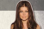 Fergie wearing Black Halo