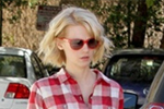 January Jones in J Brand