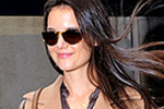 Katie Holmes in J Brand