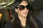 Kim kardashian in J Brand Agnes