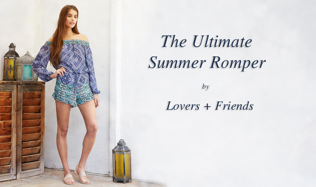 We are in love with this romper by Lovers and Friends!
